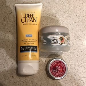 Facial Cleansers & Lip Balm Bundle
